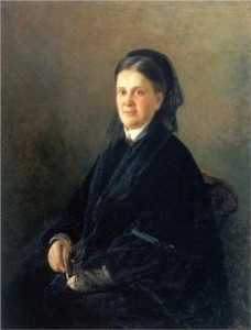 Анна Михайловна Олсуфьева ( в девичестве Обольянинова) (портрет работы Н.Н.Ге)