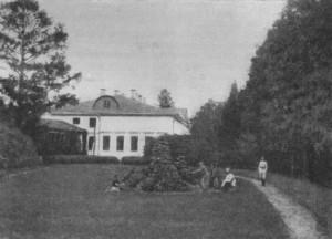 Никольское-Обольяниново в 1890-е гг. (фотография художника П.И.Нерадовского)
