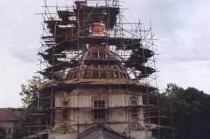 """Воссоздание купола и """"маковки"""""""